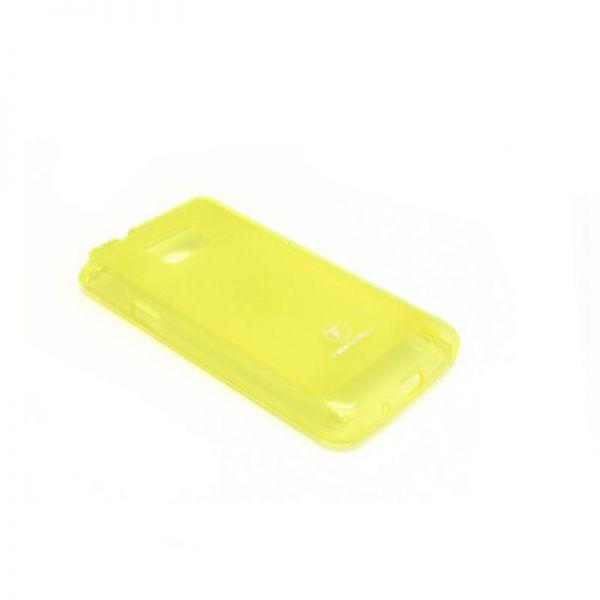 Futrola silikon Teracell Giulietta za Samsung i9100 S2, žuta