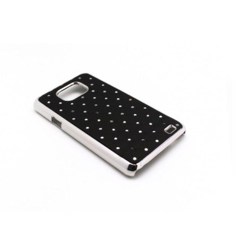 Futrola Cirkon plastika za Samsung i9100 S2, crna