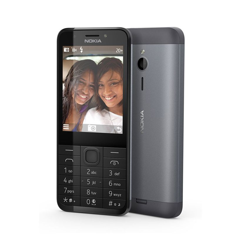 Mobilni telefon Nokia 230 DS, tamno srebrni