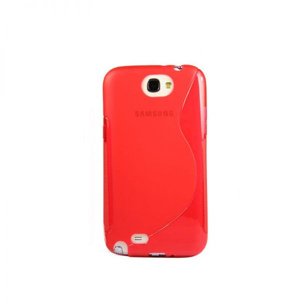 Futrola silikon Tpu S za Samsung N7100 Note 2, crvena