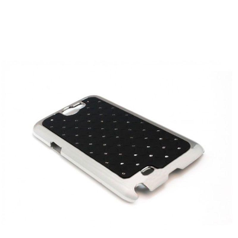 Futrola Cirkon plastika za Samsung N7100 Note 2, crna