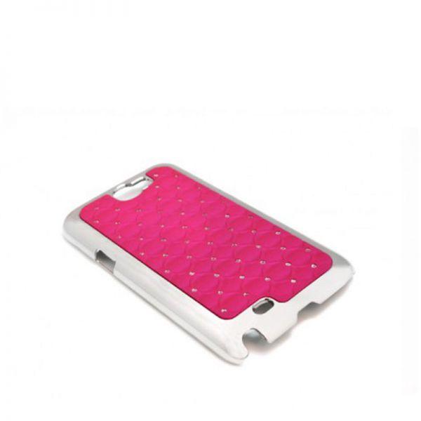 Futrola Cirkon plastika za Samsung N7100 Note 2, pink