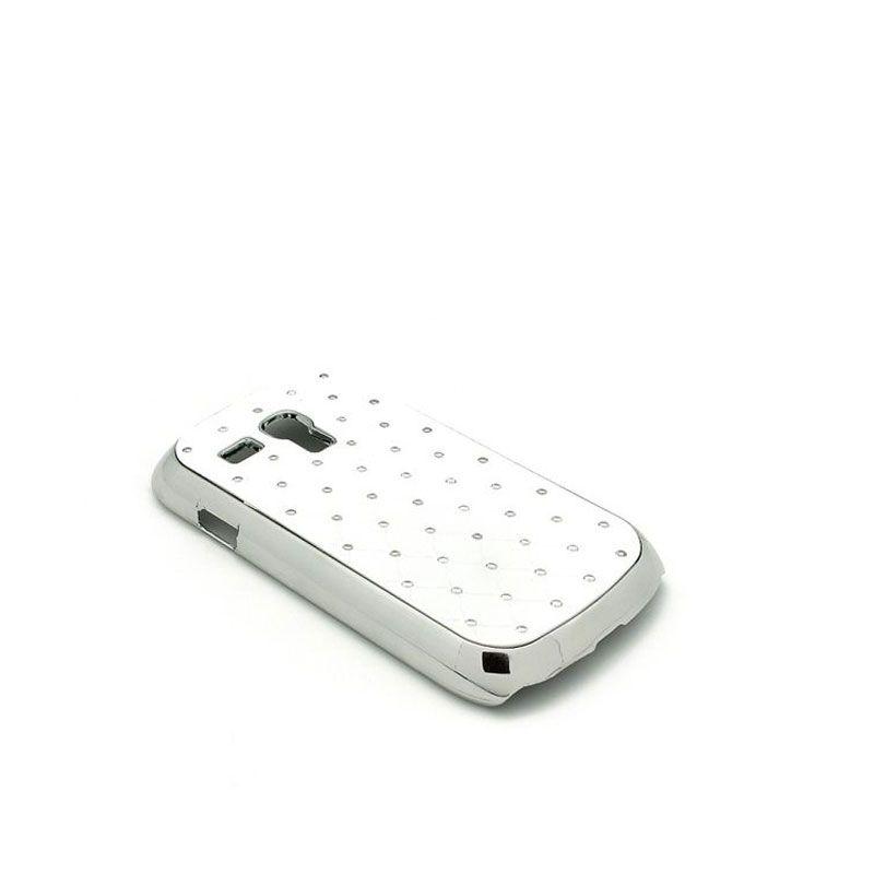 Futrola Cirkon plastika za Samsung i8190 S3 mini, bela