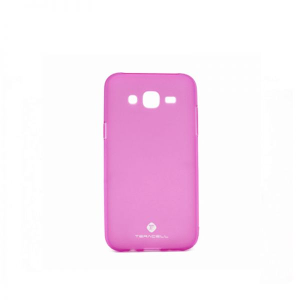 Futrola silikon Teracell Giulietta za Samsung J500 J5, pink