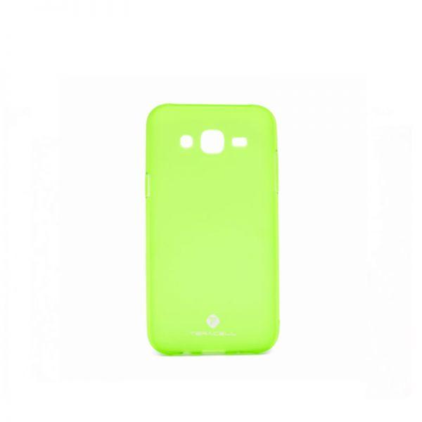 Futrola silikon Teracell Giulietta za Samsung J500 J5, zelena