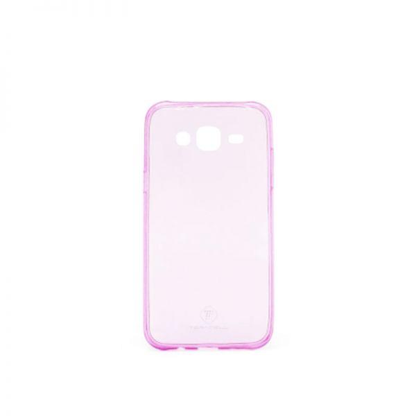 Futrola Teracell ultra tanki silikon za Samsung J500 J5, pink